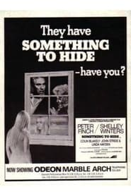 Something to Hide 1972