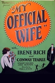 My Official Wife 1926