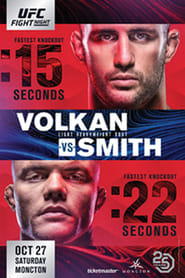 UFC Fight Night 138: Volkan vs. Smith (2018) Torrent