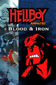 DVD cover image for Hellboy animated
