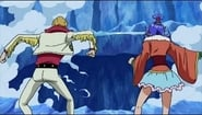 A Difficult Fight for Luffy! The Snake Sisters' Haki Power!!