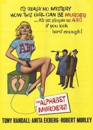 Poster del film The Alphabet Murders