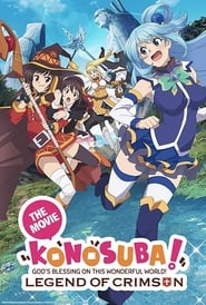 Poster KonoSuba: God's Blessing on this Wonderful World! Legend of Crimson 2019