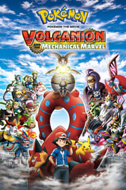 Poster Pokémon the Movie: Volcanion and the Mechanical Marvel 2016