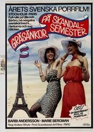 Poster Crazy Swedish Holidays in Paris 1980