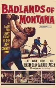 Affiche de Film Badlands of Montana