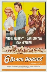 Affiche de Film Six Black Horses