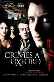 Crimes à Oxford streaming