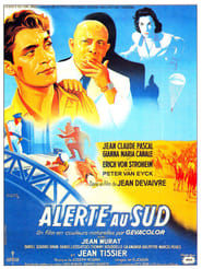 Poster Alerte au sud 1953