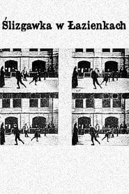 Ślizgawka w Łazienkach 1894