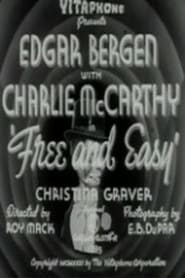 Poster Free and Easy 1931