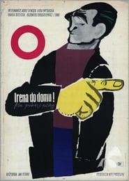 Poster Irena do domu! 1955
