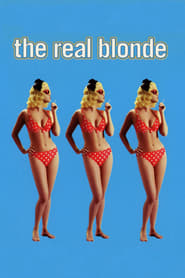 Poster for The Real Blonde