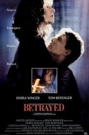 Poster Betrayed 1988