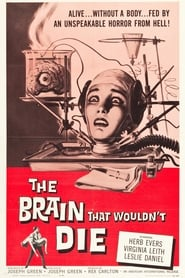 Poster The Brain That Wouldn't Die 1962