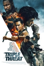 Triple Threat (2019) 720p WEB-DL 800MB Ganool