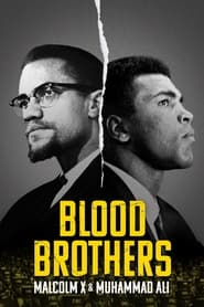 Poster Blood Brothers: Malcolm X and Muhammad Ali 2021