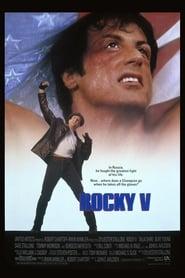 Poster for Rocky V