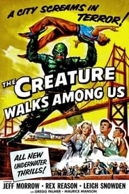 Poster The Creature Walks Among Us 1956