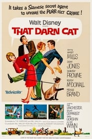 Poster That Darn Cat! 1965