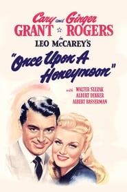 Poster Once Upon a Honeymoon 1942