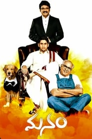 Manam (2014) Dual Audio DVDRip 480p 720P x264 [Hindi Dubbed]