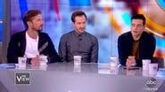 Rami Malek, Joe Mazzello, and Gwilym Lee