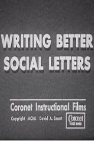 Writing Better Social Letters 1950