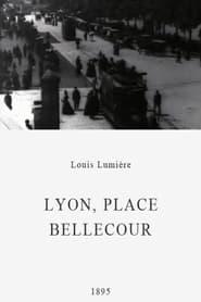 Lyon, place Bellecour 1895