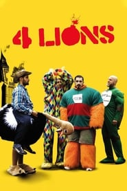 Poster for the movie, 'Four Lions'