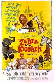 Poster Zebra in the Kitchen 1965