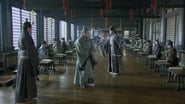 Zhuge Liang argues with the scholars
