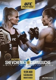 UFC Fight Night 156: Shevchenko vs. Carmouche 2