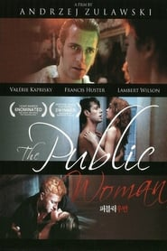 Poster The Public Woman 1984