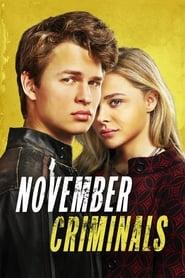 Poster November Criminals 2017