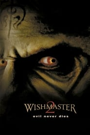 Poster for Wishmaster 2: Evil Never Dies