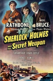 Poster Sherlock Holmes and the Secret Weapon 1942