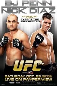 Poster UFC 137: Penn vs. Diaz 2011
