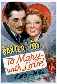 Affiche de Film To Mary - with Love