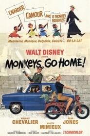 Poster Monkeys, Go Home! 1967