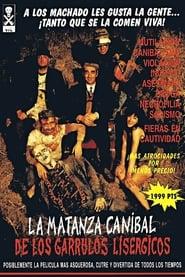 Poster La matanza caníbal de los garrulos lisérgicos 1993