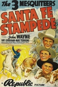 Poster Santa Fe Stampede 1938