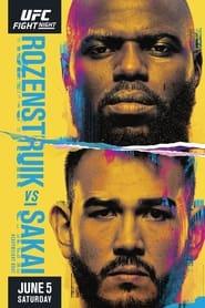 UFC Fight Night 189: Rozenstruik vs. Sakai