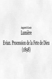 Evian : procession de la Fête-Dieu I