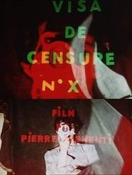 Visa de censure n° X
