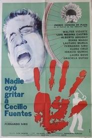 Nadie oyó gritar a Cecilio Fuentes (1965)