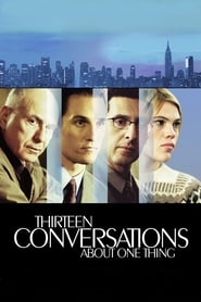 Poster for Thirteen Conversations About One Thing