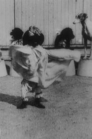 Chiens savants: la danse serpentine 1898