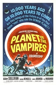 Poster Planet of the Vampires 1965