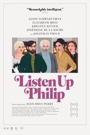 Poster Listen Up Philip 2014